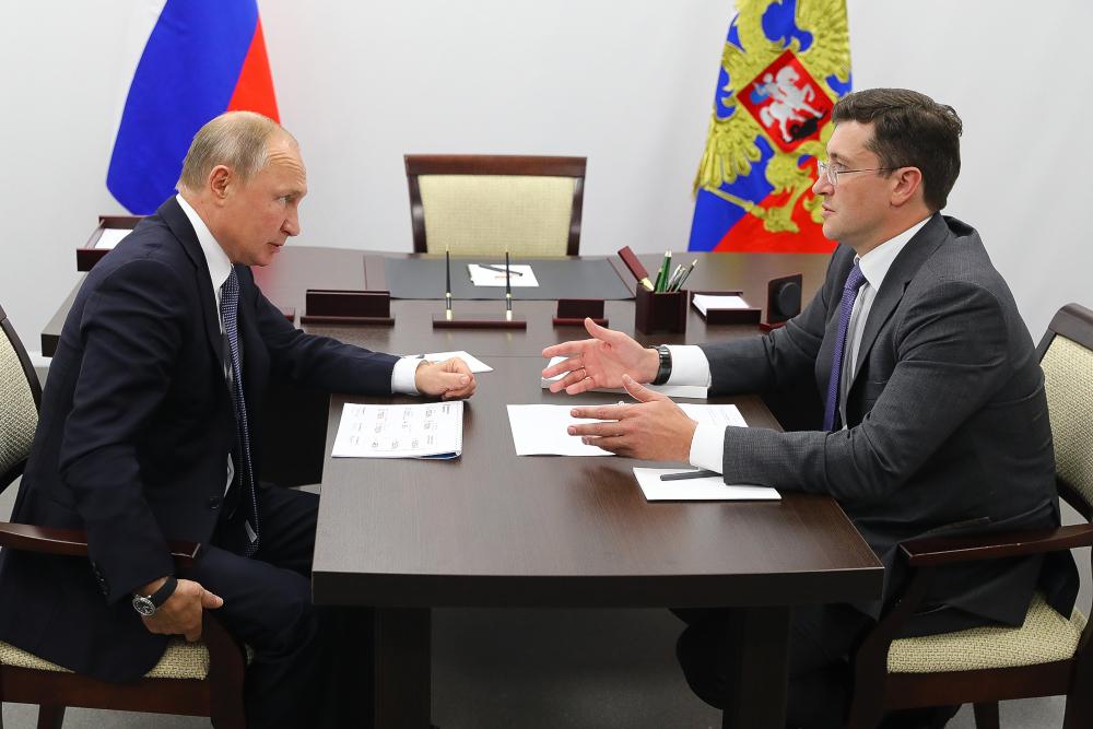 Глеб Никитин представил Владимиру Путину проект строительства онкоцентра в регионе